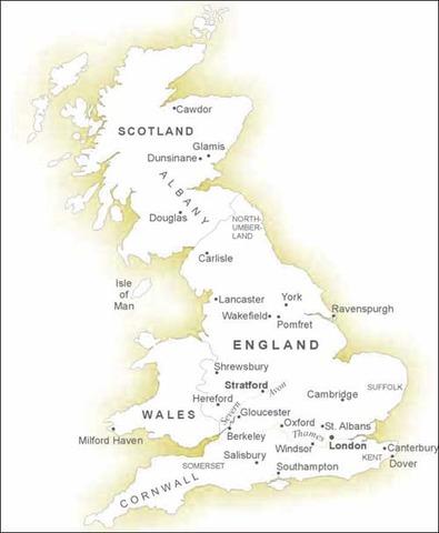 Plague reaches England