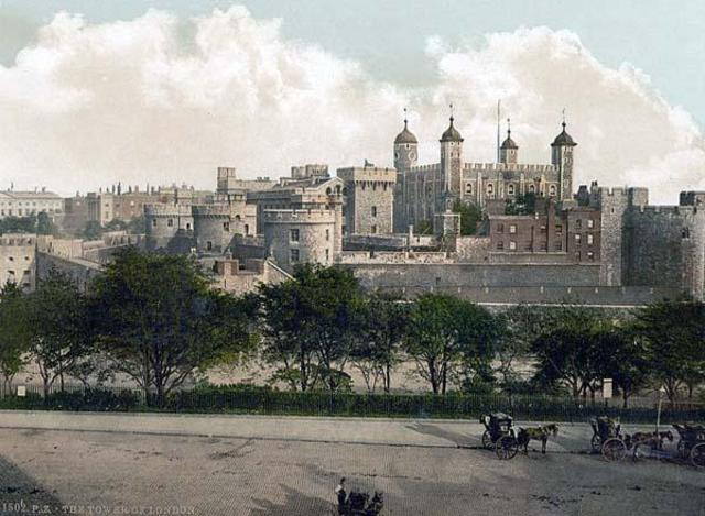 The Black Death hits London, England