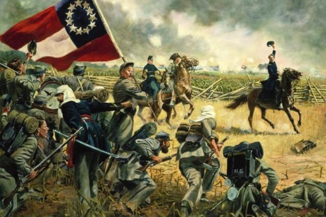 Declaración de la guerra civil Americana