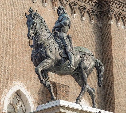 The Equestrian Statue of Bartolomeo Colleoni by Andrea del Verrocchio
