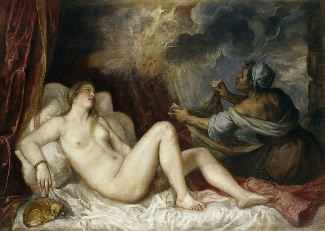 Danaë with Nursemaid by Titian
