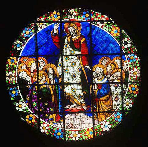 The Ascension by Lorenzo Ghiberti