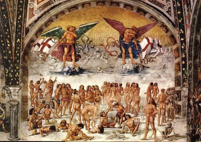 Resurrection of the Flesh by Luca Signorelli