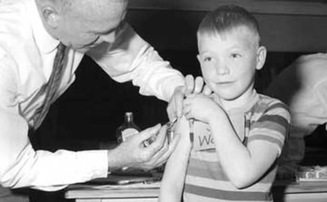 Descubrimiento de la vacuna del sarampión