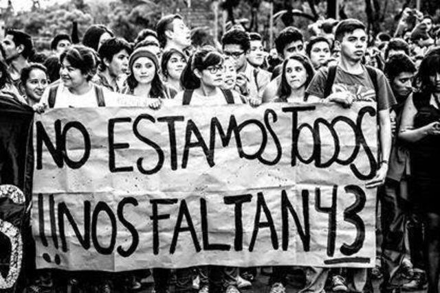 Movimiento en respuesta a la desaparición forzada de los 43 estudiantes de Iguala