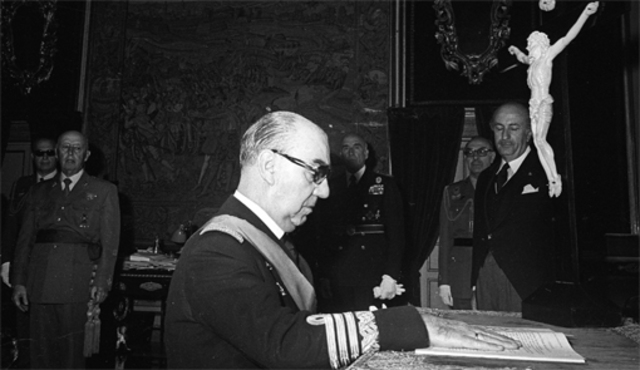 Luis Carrero Blanco, Presidente del gobierno