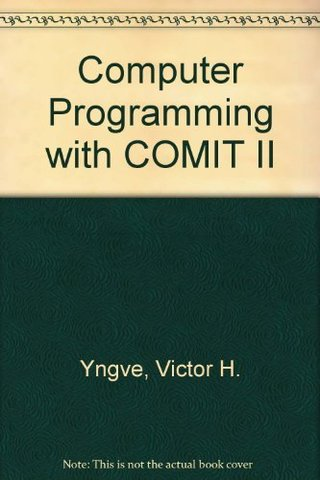 COMIT - Dr. Victor Yngve y colaboradores en el MIT