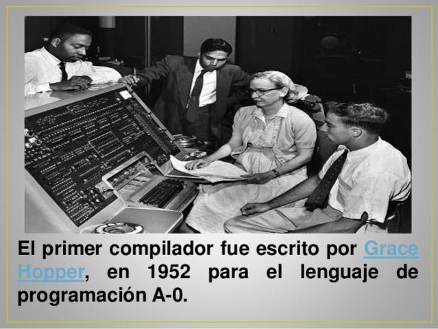 Primer compilador.