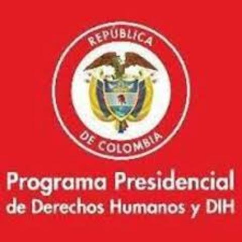 PROGRAMA PRESIDENCIAL DE DERECHOS HUMANOS Y DIH
