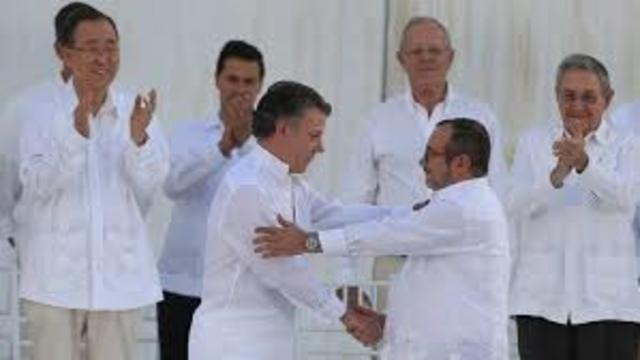 ACUERDOS DE PAZ ENTRE EL GOBIERNO DE JUAN MANUEL SANTOS Y LAS FARC