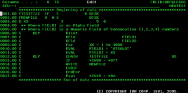 IBM RPG (IBM)