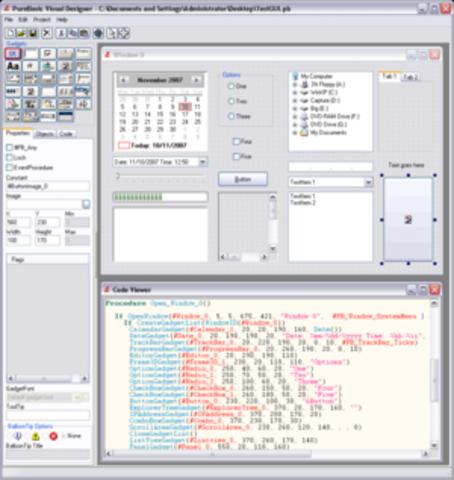PureBasic - Frederic Laboureur, Fantaisie Software