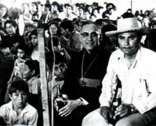 Asesinan a Monseñor Oscar Arnulfo Romero