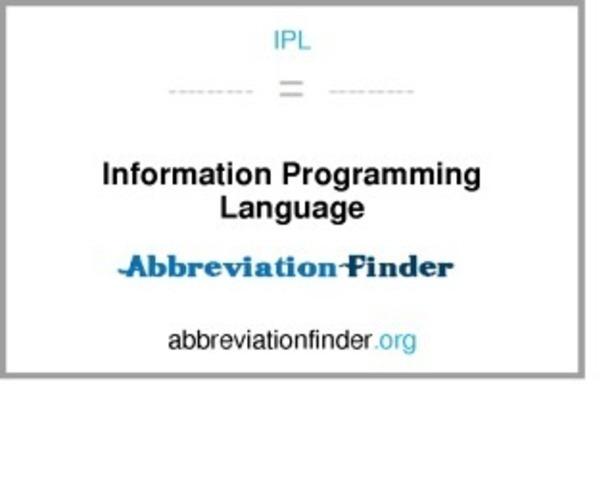 Lenguaje IPL