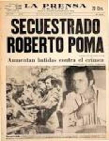 Secuestro de Roberto Poma
