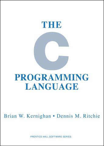 """Libro: """"El Kernighan y Ritchie""""."""