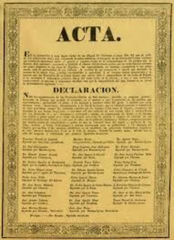 Declaracion de la Independencia