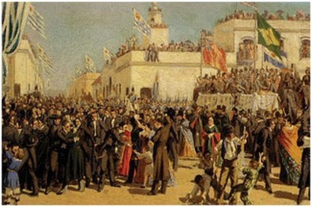 Independecia de Uruguay