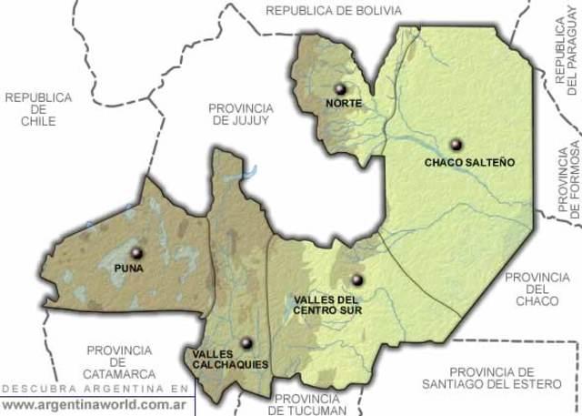 Separacion de Jujuy y Salta