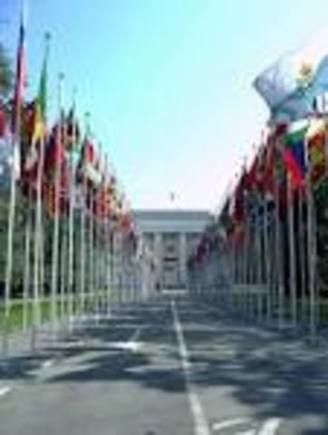 Las Naciones Unidas se aseguran en Ginebra, Suiza; en encontrar una salida negociada al Conflicto Armado salvadoreño
