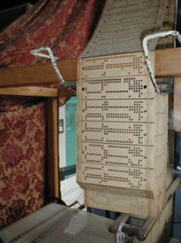 La maquina del telar de jacquard