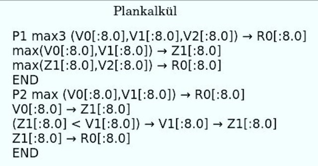 """Plankalkül (""""Plan Cálculo"""")"""