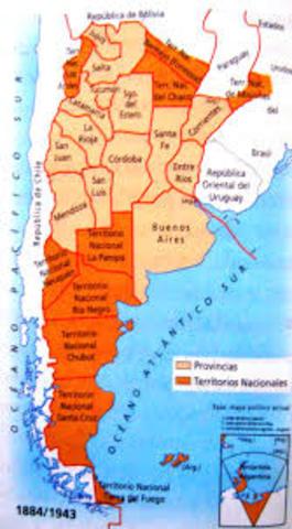 De territorios a Provincias