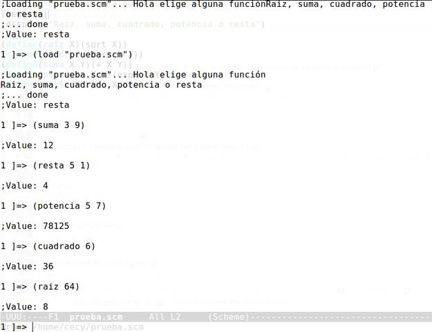 Lenguaje de programación Scheme