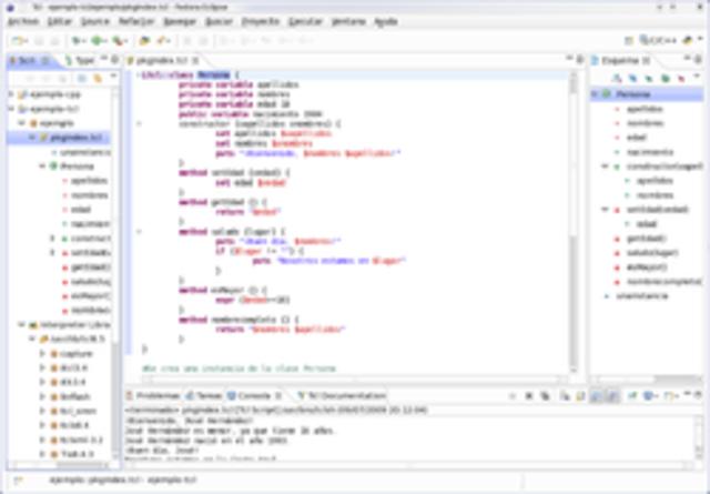Lenguaje de programación Tcl.