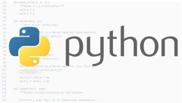 Lenguaje de programación Python.