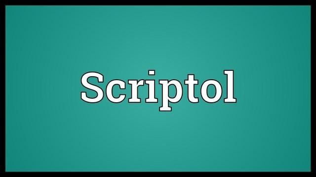 Scriptol