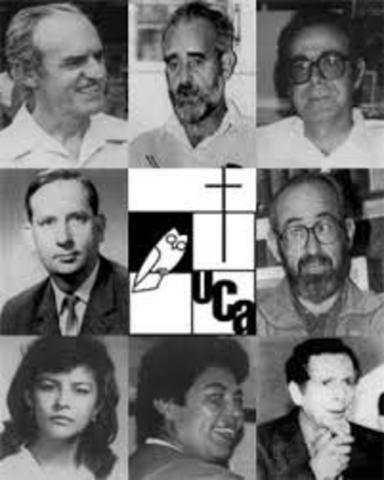 SON ASESINADOS LOS JESUITAS DE LA UNIVERSIDAD CENTRO AMERICANA JOSE SIMEON CAÑAS (UCA)