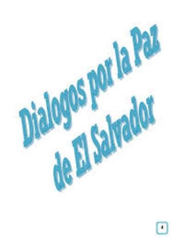 INICIA EL DIALOGO ENTRE EL GOBIERNO SALVADOREÑO Y EL FMLN EN CARACAS VENEZUELA