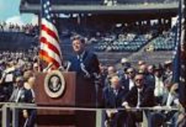 Kennedy's speech at Rice University