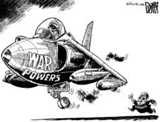 war powers resolution act