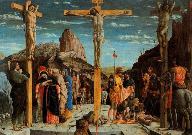 Políptico de San Zenón. La Crucifixión