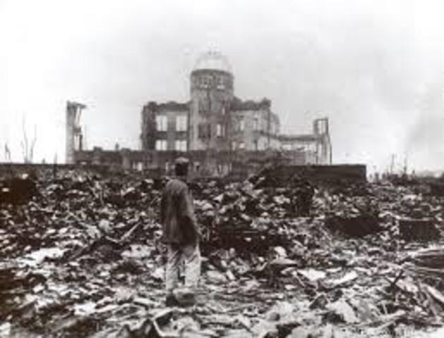 Atombombene over Hiroshima og Nagasaki