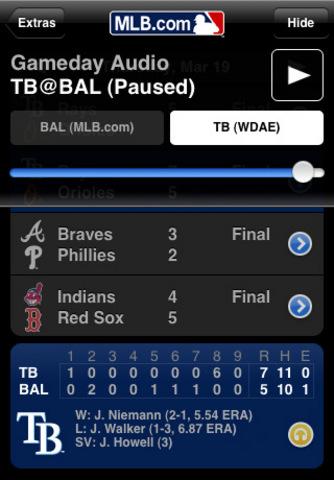MLB at Bat 2009