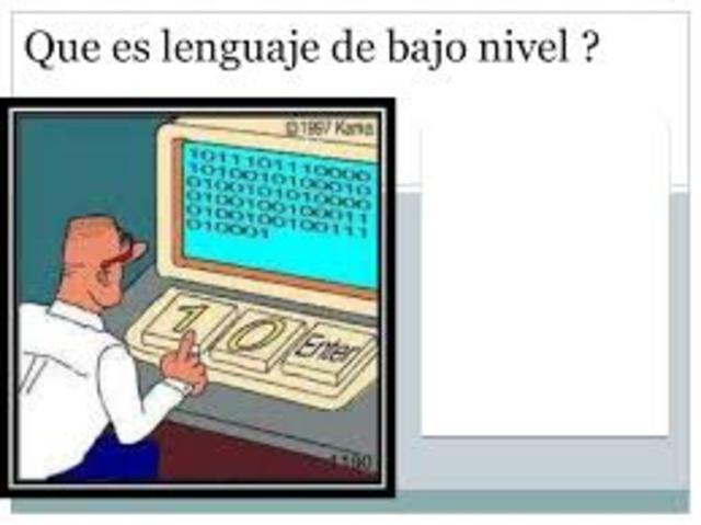LENGUAJES DE BAJO NIVEL