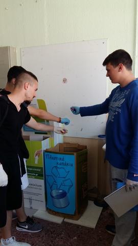 Δράση για τη συλλογή πλαστικών πωμάτων