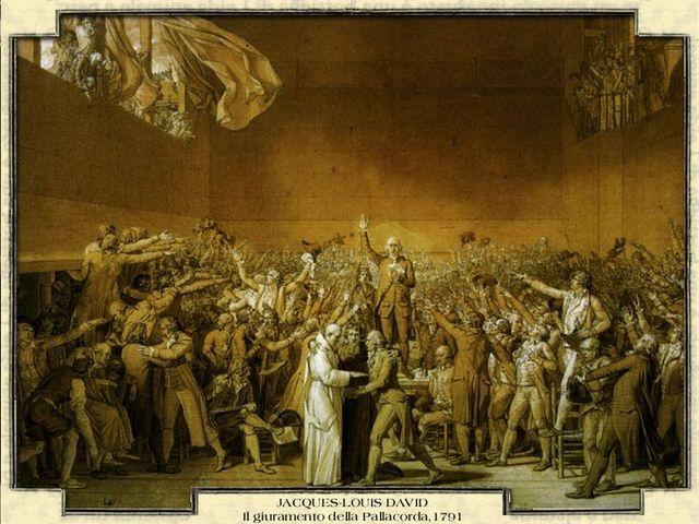 Giuramento della Pallacorda e nascita Assemblea Nazionale Costituente