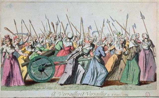 Marcia delle donne su Versailles
