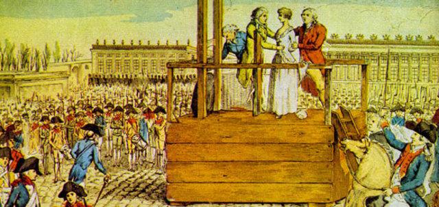 Condanna a morte della regina Maria Antonietta