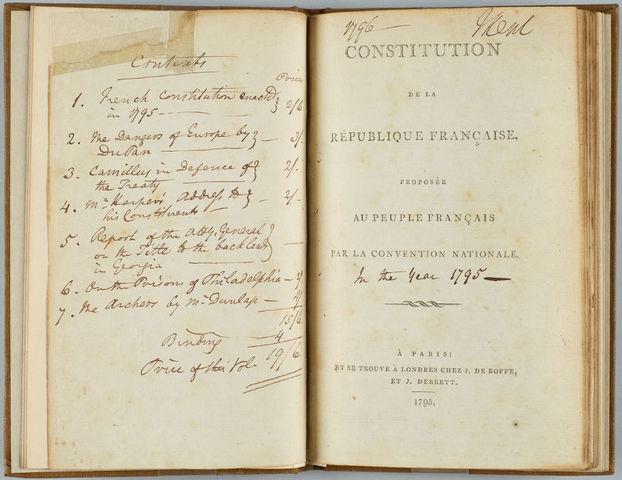 Costituzione del 1795