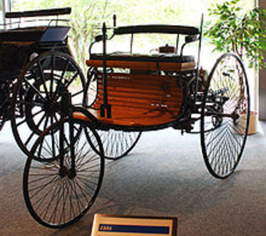 First Electronic Vehicle