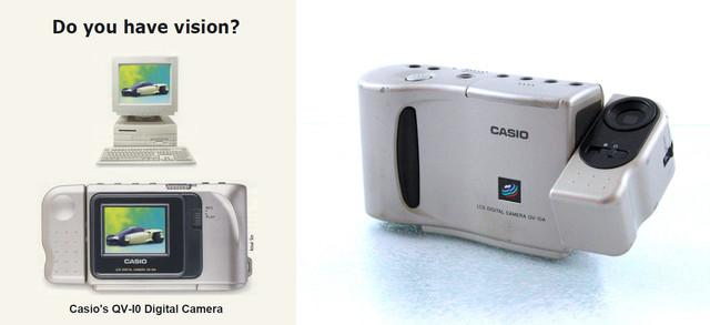 Casio QV-10, con pantalla LCD