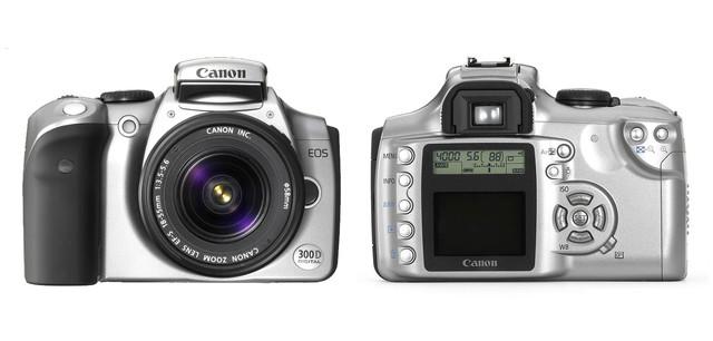 Canon EOS 300D, democratizando la DSLR