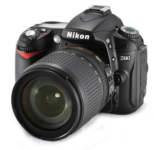 Nikon D90 graba vídeo