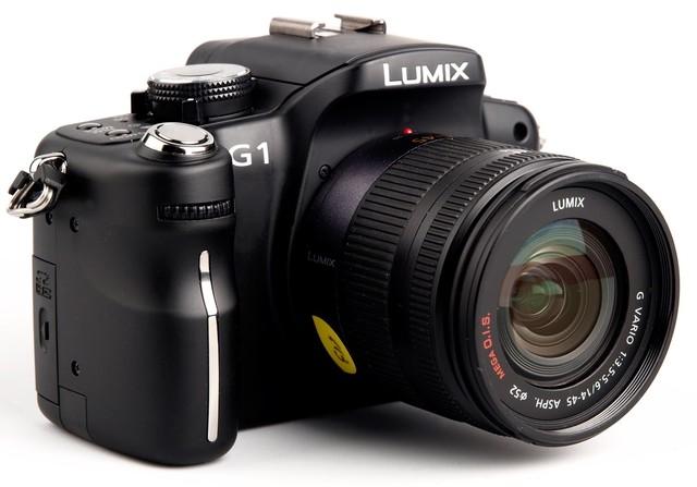 Panasonic Lumix G1, sin espejo