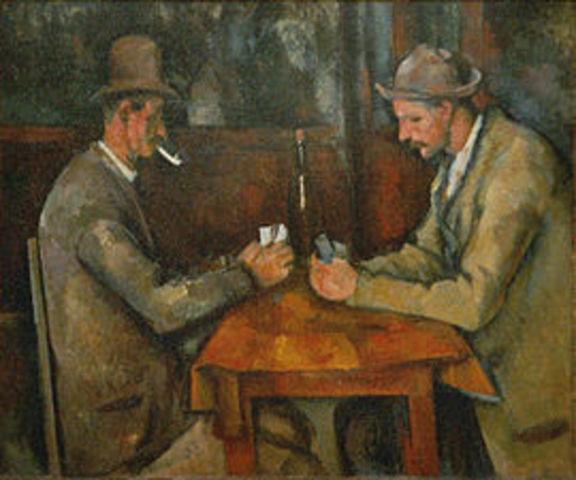 Los jugadores de cartas (Cezanne)